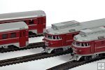 Diesel train DR1-01 (2 motor car, 2 trailer, interior)