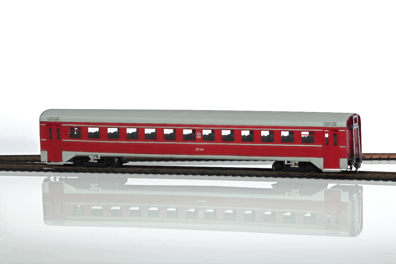 trailer car Diesel train DR1-01 - Click Image to Close