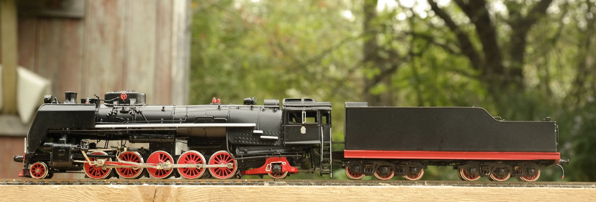 Steam engine FD20 painted - Click Image to Close